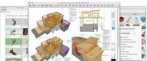 Architectural Design Software skp File SketchUp