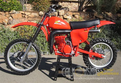 honda motocross bike 1979 honda cr250 elsinore vintage motorcross dirt bike