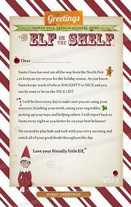 letter from elf on the shelf elf on a shelf pinterest With the elf on the shelf letters to santa