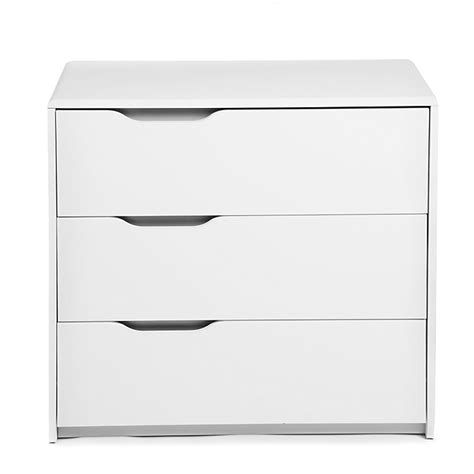 Commode Blanche Alinea by Commode Blanche 3 Tiroirs Poign 233 Es R 233 Versibles Cool