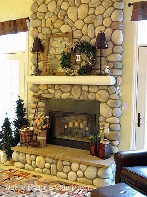 christmas mantel decorating ideas rustic crafts chic decor