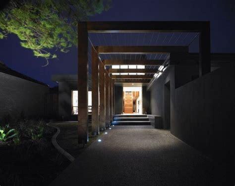 resort house entrance architecture design landscape lighting design architecture