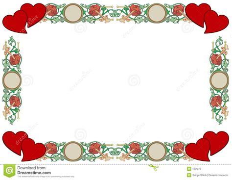 cadre d amour images libres de droits image 152979