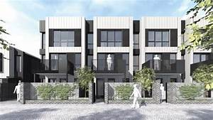 Fletchers to build 191 inner city homes for christchurch for Terraced house plans nz