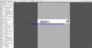 Volvo C30 S40 V50 C70 Tp39114202 Wiring Diagram Manual