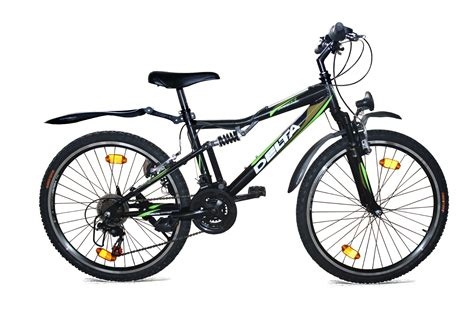 fahrrad mountainbike 28 zoll 24 zoll mountainbike fahrrad vollgefedert 18 shimano stvzo 405 schwarz ebay