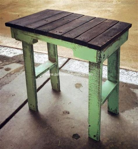 wood side table plans diy pallet end table plans pallet wood projects