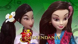 Disney Descendants Lonnie VS Mulan Disney Store Classic ...