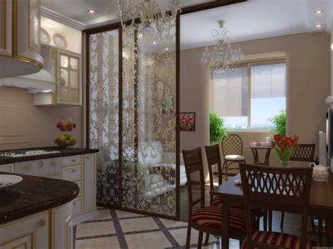 cuisine semi ouverte типы перегородок в интерьере кухни гостиной 75 фото