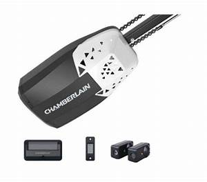 1  2 Hp Chain Drive Garage Door Opener With Remote Control