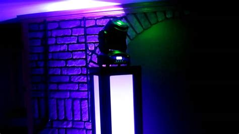diy home  led moving head totemtower youtube