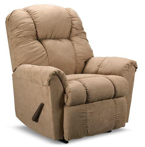 Recliner Rockers Chairs by Benson Rocker Recliner Beige S