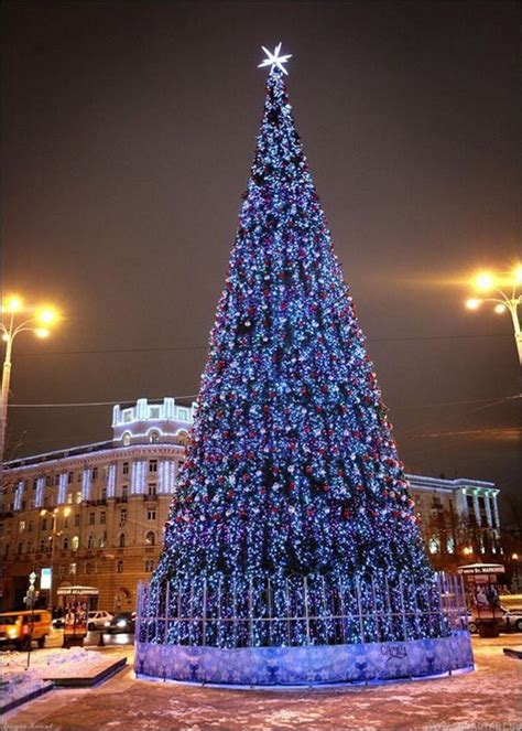 beautiful   christmas  moscow russia