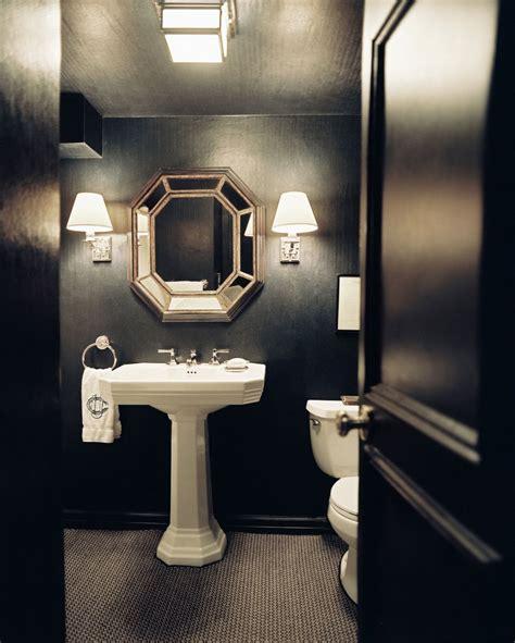 bathroom mirrors ideas best 25 black powder room ideas on black
