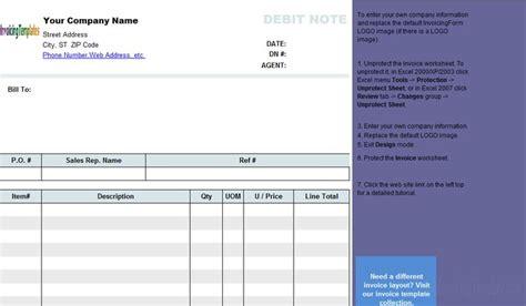 debit note template freeware edition debit voucher