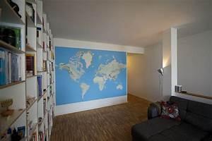 Wie Verputze Ich Eine Wand : wie man eine riesige weltkarte f r die wand selbst druckt ~ Michelbontemps.com Haus und Dekorationen