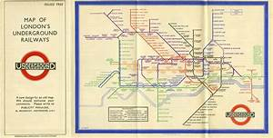 First Edition Of The Harry Beck London Underground