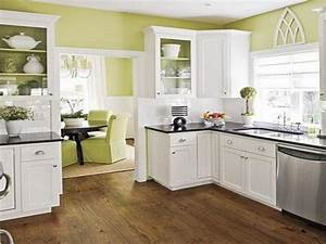 Kitchen Best Green Kitchen Color Schemes With Wood