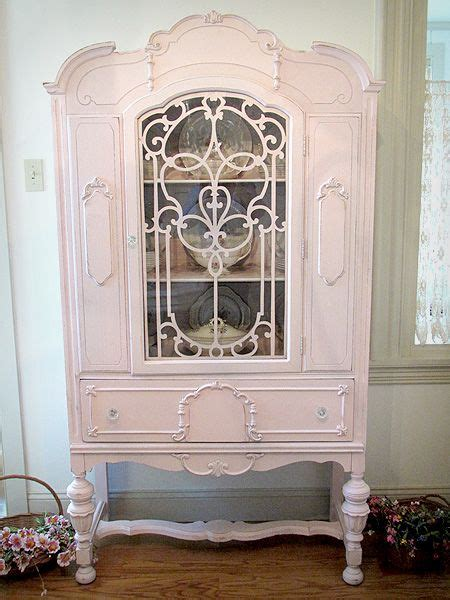 shabby chic dining room cabinets so shabby chic hope the hubby doesn t mind pink in our dining room labor of love renovating