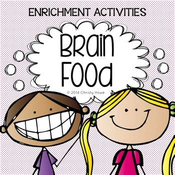 It is a research instrument consisting of a series of questions for the purpose of gathering information from respondents. Brain Food: The Original - Printable Activities for Creative Thinking