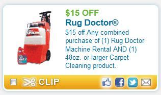 Rug Dr Coupons by Printable Coupons And Deals Rug Doctor Sept 15
