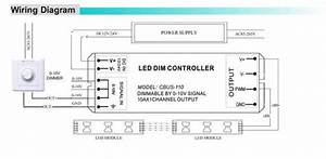 Constant Current 0-10v To Pwm Led Dimmer 24w