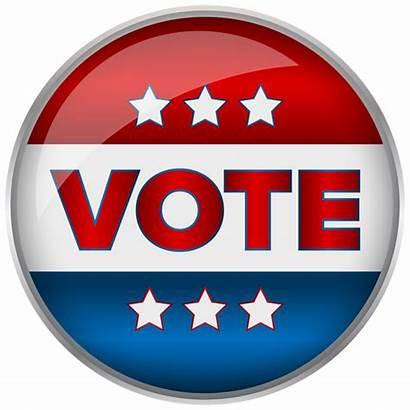 Vote Clip Badge Clipart States Transparent United
