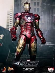 Hot Toys – The Avengers: Battle Damaged Mark VII ...