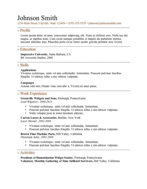 5 Resume Templates by Awesome Resume Cv Templates 56pixels