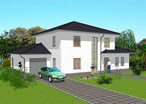 Stadtvilla Mit Garage : mediterrane stadtvillen in massivbauweise bauen ~ A.2002-acura-tl-radio.info Haus und Dekorationen