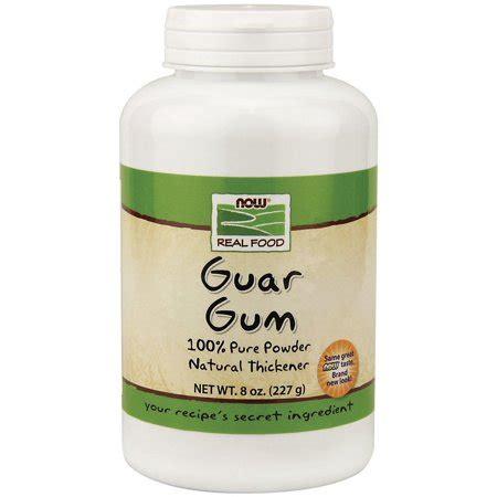 guar gum powder now foods 8 oz powder walmart