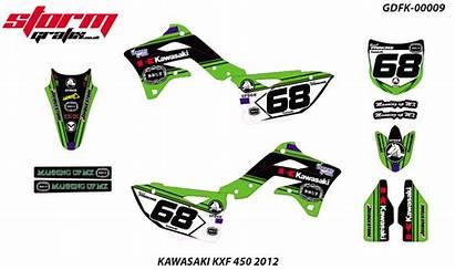 Graphics Motocross Kawasaki Kxf 450 Mx