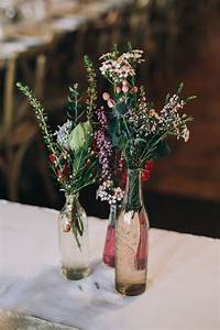 Claire Robbie39s Boho Country Wedding With Native Flowers