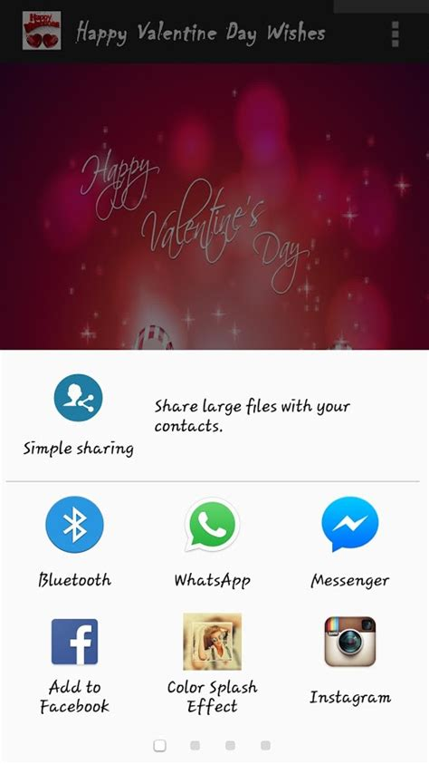 happy valentines day images android apps  google play