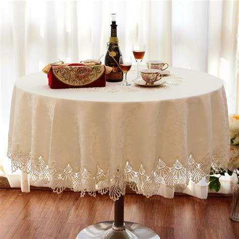 tablecloth for oval table luxury fashion round table cloth dining table cloth lace