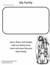 HD Wallpapers Holy Family Coloring Pages For Kids