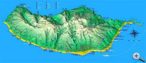 Madeira Insel Karte