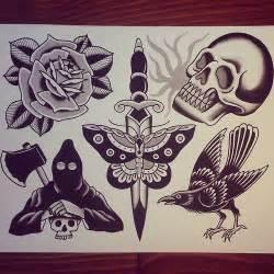 Tattoo flash Traditional tattoos and Classic tattoo on ...