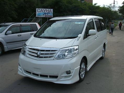 Toyota Alphard Photo by 2005 Toyota Alphard Pictures