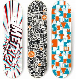 100 Crazy Skateboard Designs | Abduzeedo | Graphic Design ...