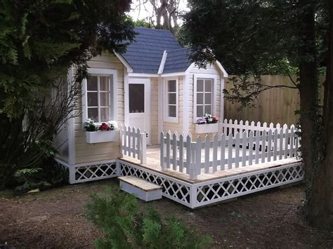 Cottage Playhouse Cottage Playhouse Enchanted Creations Playhouses