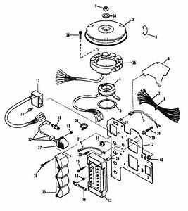 Force 120 Hp  1995  Ignition Components Parts