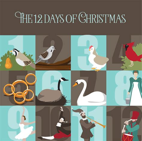 12 days of christmas party theme