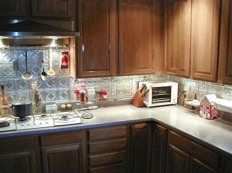 aluminum kitchen backsplash photos of kitchens with metal backsplashes aluminum copper