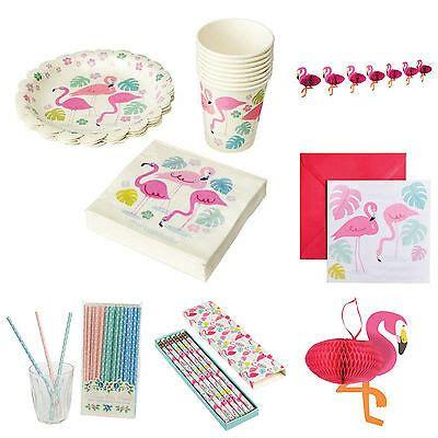 geburtstag deko mädchen geburtstag deko flamingo kindergeburtstag set birthday m 228 dchen sommer pink eur 1 50