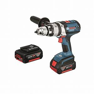 Bosch Pro 18v : bosch professional gsb 18v 4 0ah hammer drill kit ~ Carolinahurricanesstore.com Idées de Décoration