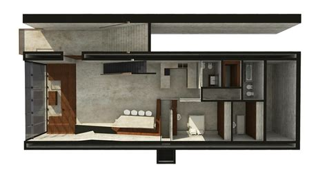 country house plan casa brutale 2 e architect