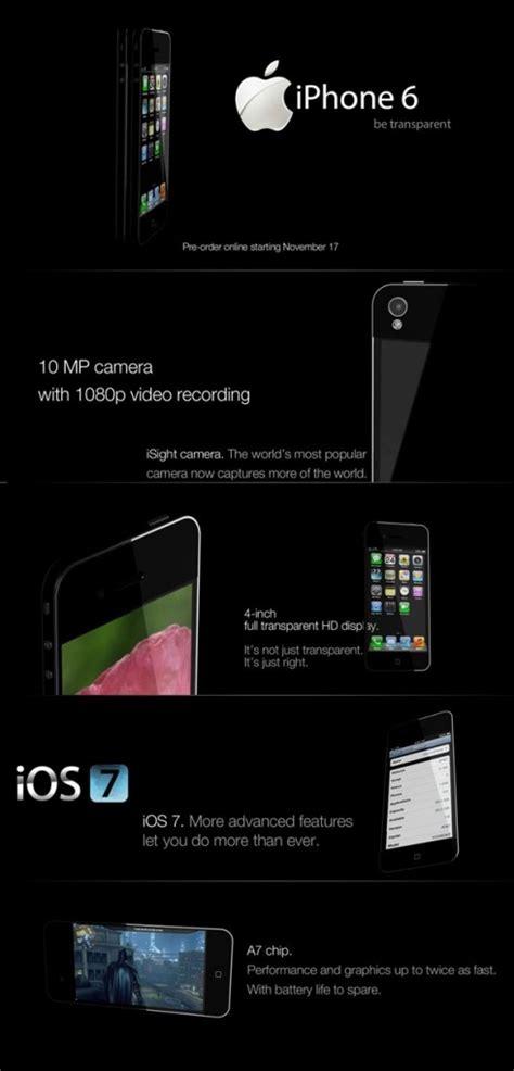 iphone 6 megapixel iphone 6 concept uses transparent display 10 megapixel