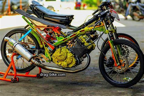 Gambar Drag Fu 45 foto gambar modifikasi motor satria fu drag race style