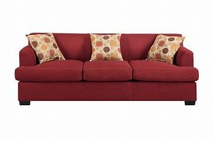 poundex montreal iv f7963 red fabric sofa steal a sofa With red fabric sectional sofas